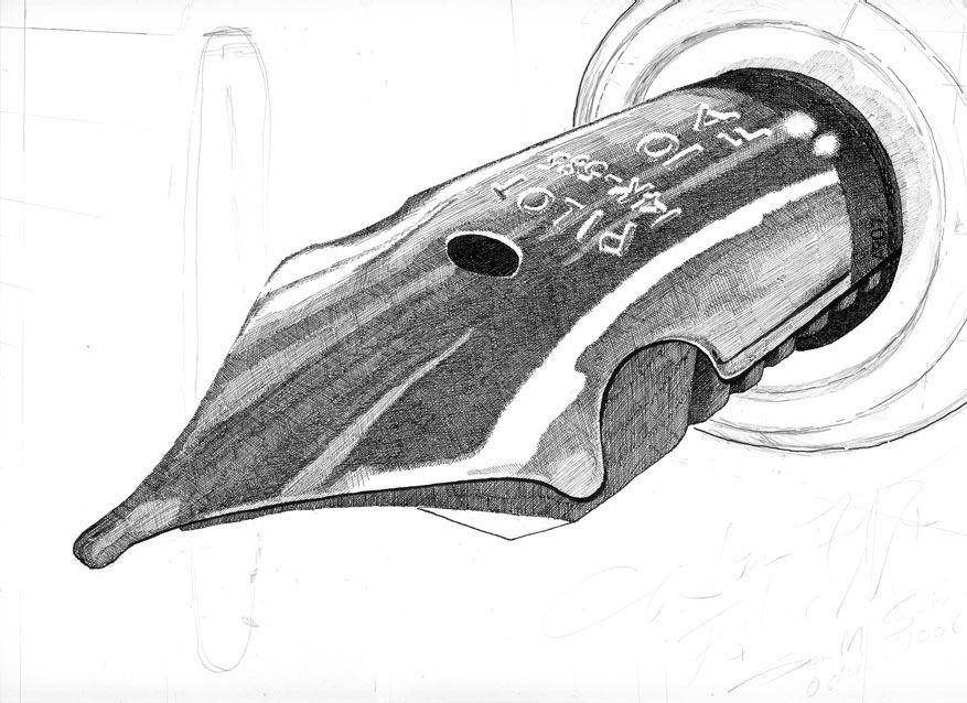 Tutorial De Dibujo A Plumilla Tutoriales De Arte Totenart Dibujo A Pluma Tutorial De Dibujo Plumas