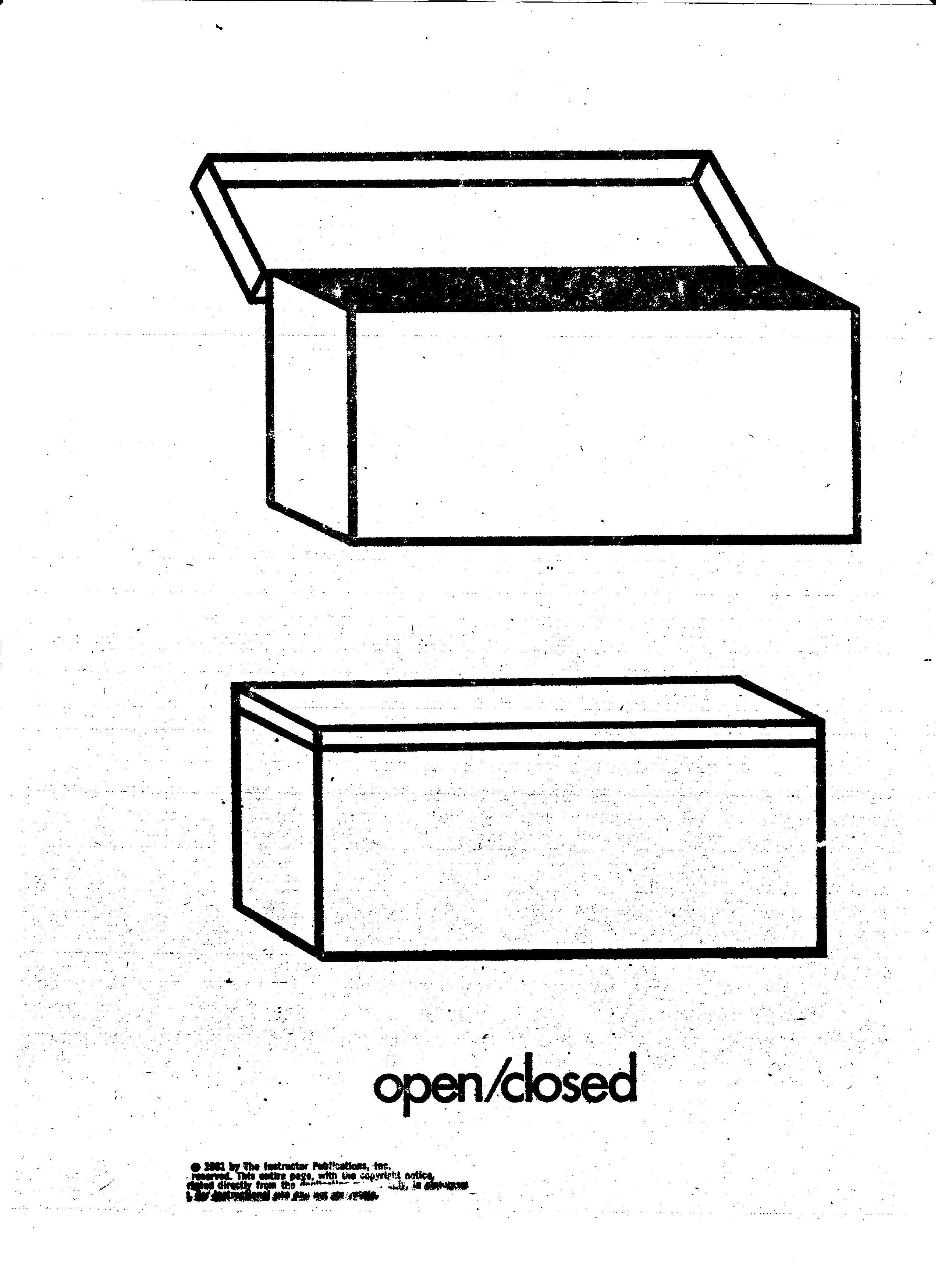 Opposite Open Closed