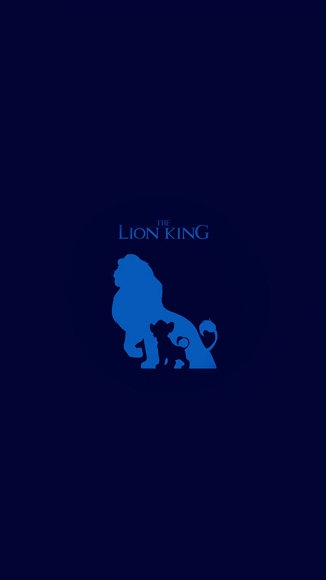 The Lion King Blue Minimal Art Iphone 6 Wallpaper Download Iphone Wallpapers Ipad Wallpapers One Stop Download Lion King Abstract Lion Lion Wallpaper