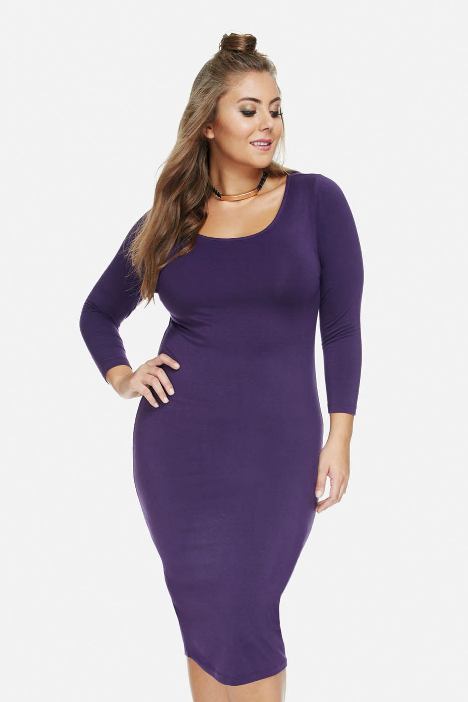 Plus Size The Everyday Midi | Fat Gurl Fly! | Pinterest
