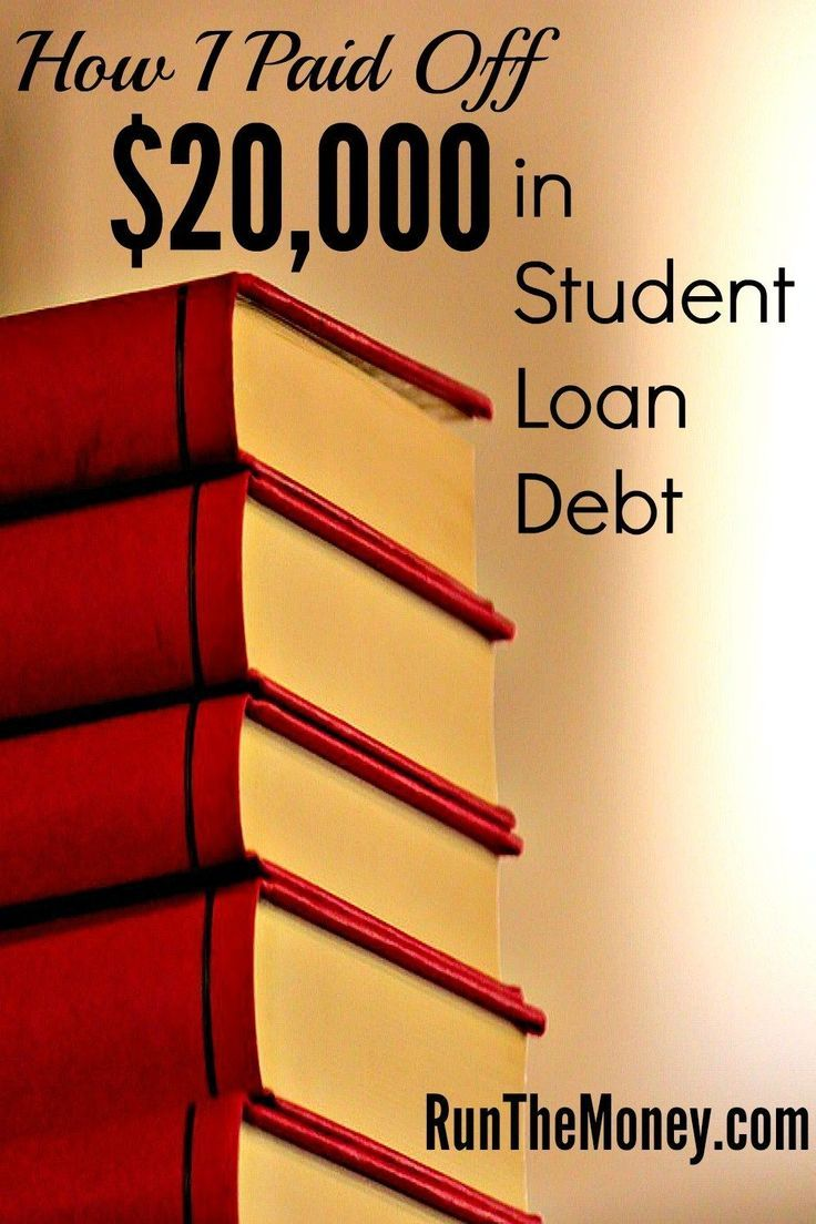 How i paid off 20000 in student loan debt