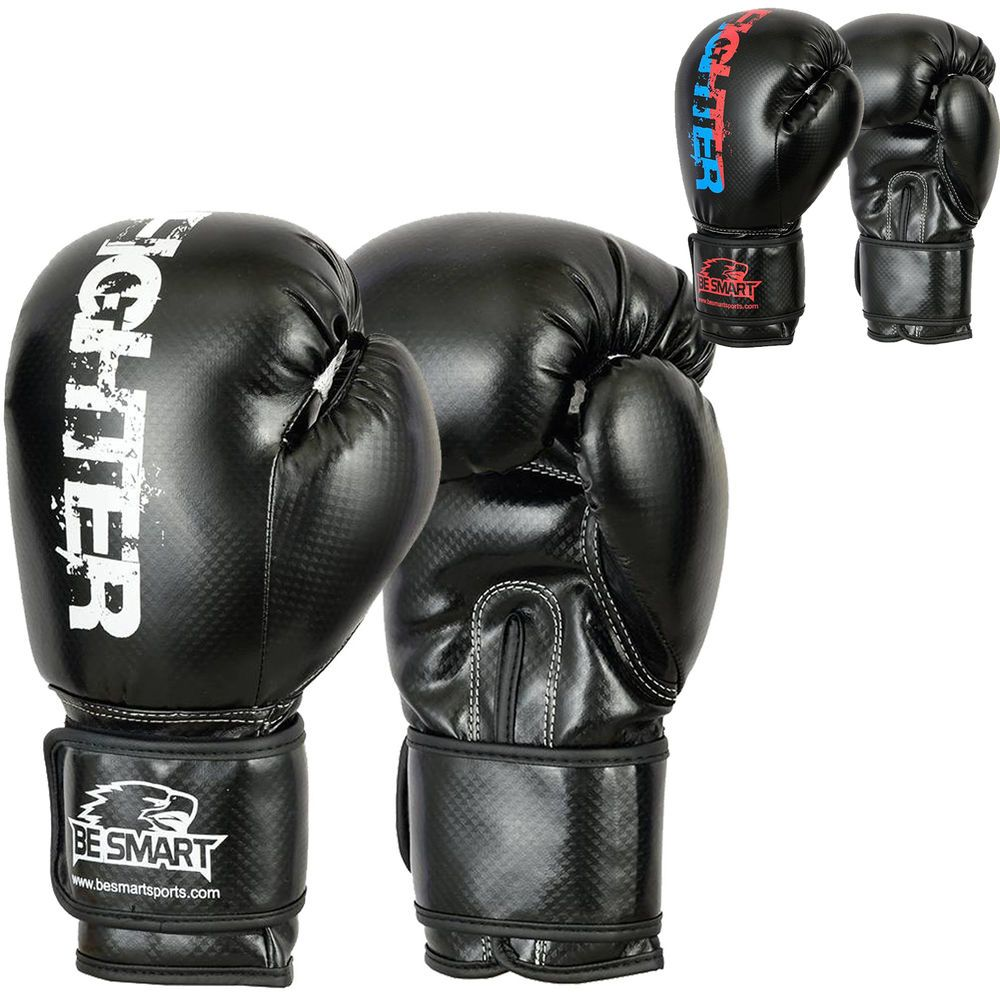 Thaismai Leather Bag Mitt Muay Thai Kickboxing Boxing Bag Gloves MMA Fitness