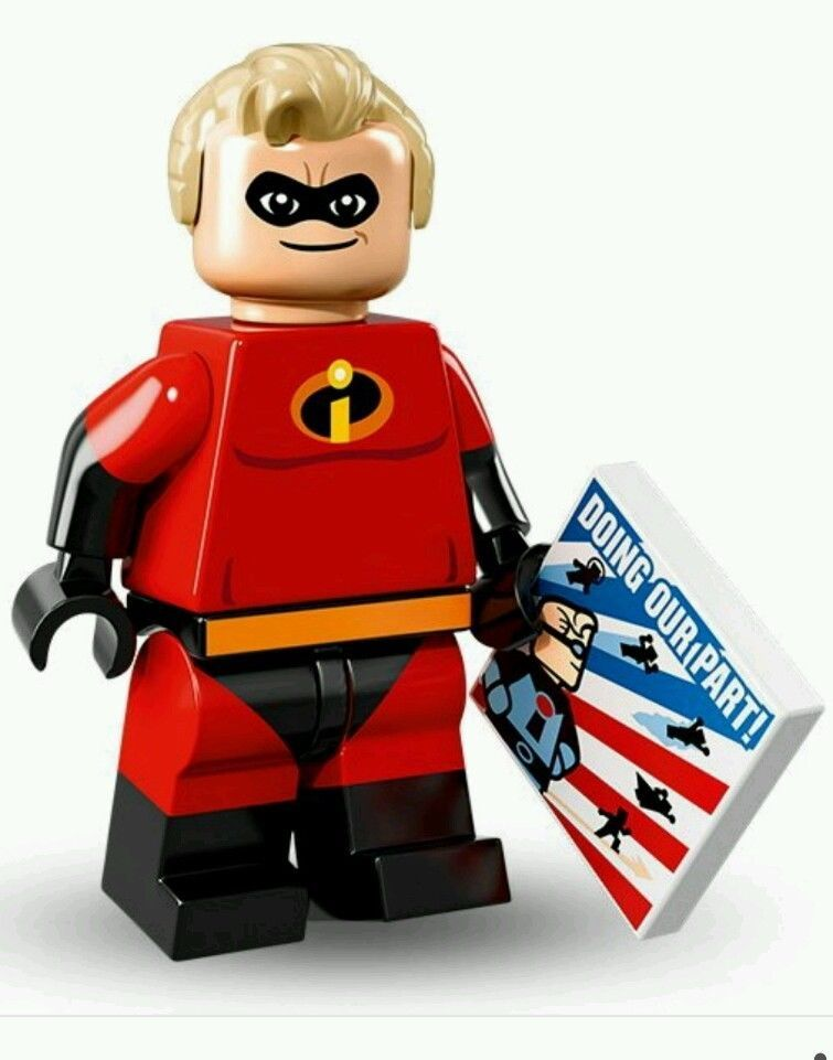 Incredibles 2 MINIFIG minifigure 10761 figure NEW LEGO BABY JACK JACK w//Crib