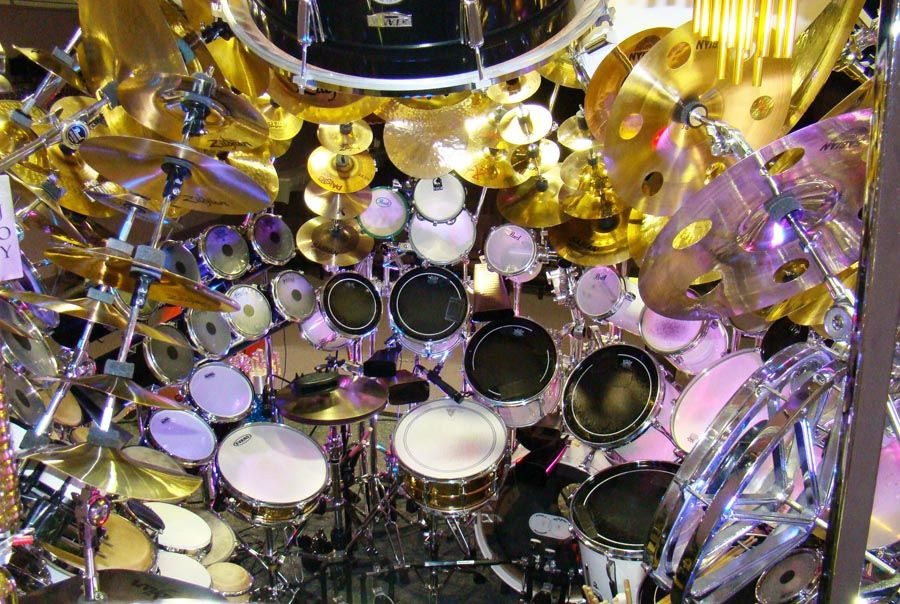 This Drum Kit Is Massive And Possibly The Largest Drum Setup In