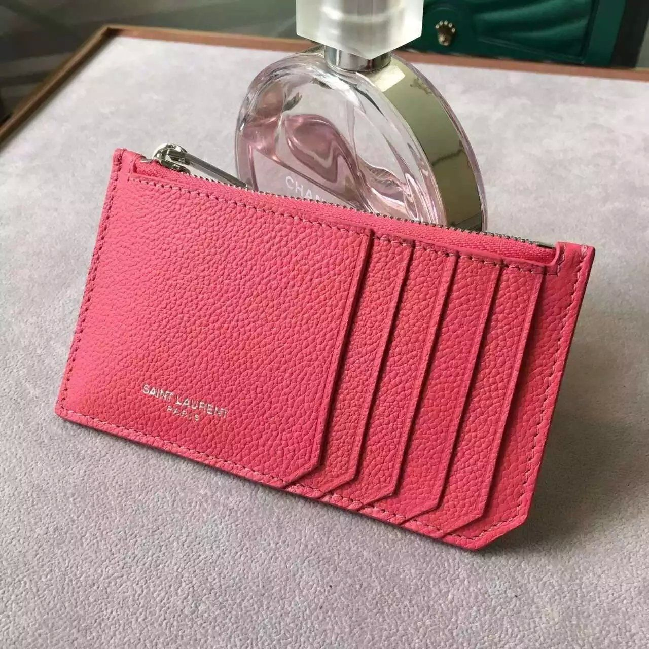 ca803ea2 Limited Edition!2016 New Saint Laurent Small Leather Goods Cheap ...
