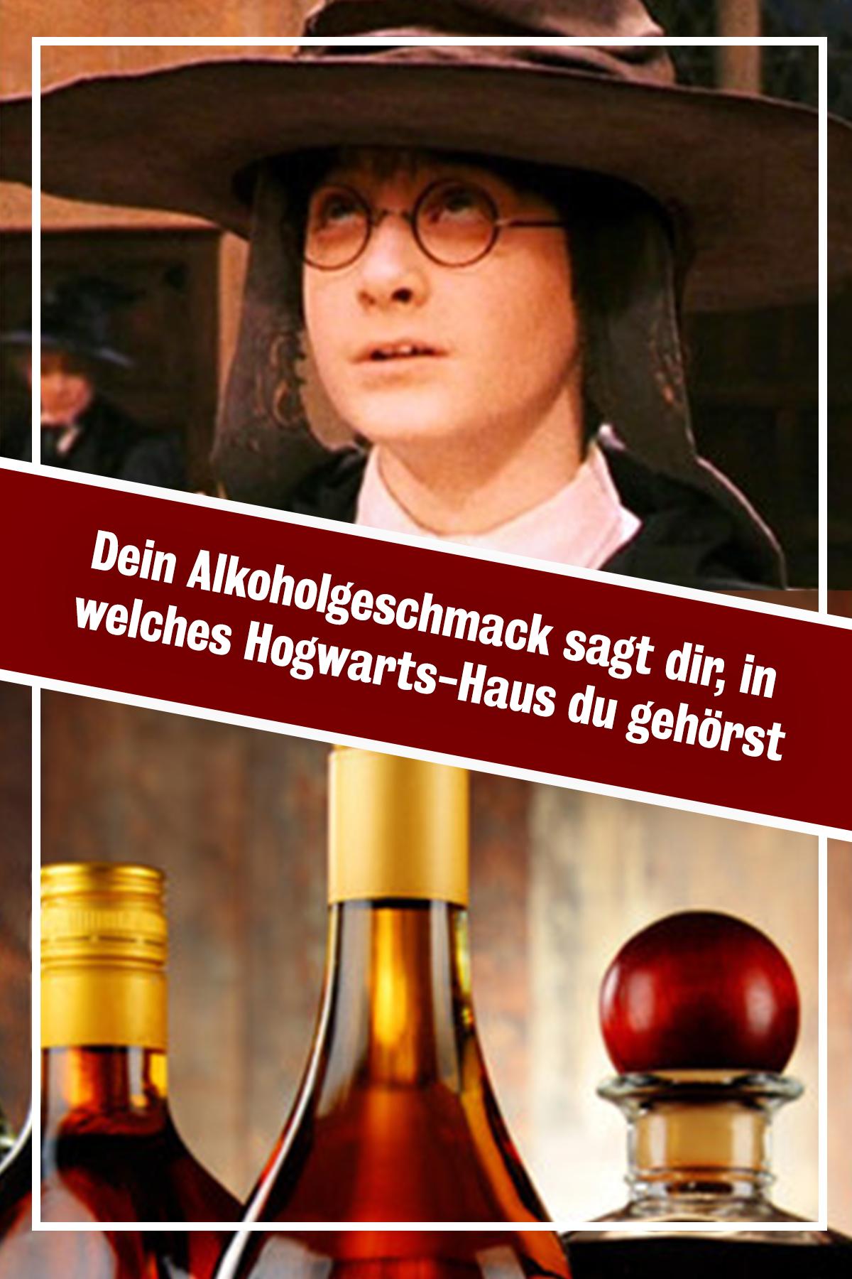 Dein Alkoholgeschmack Sagt Dir In Welches Hogwarts Haus Du Gehorst Hogwarts Hogwarts Hauser Alkohol