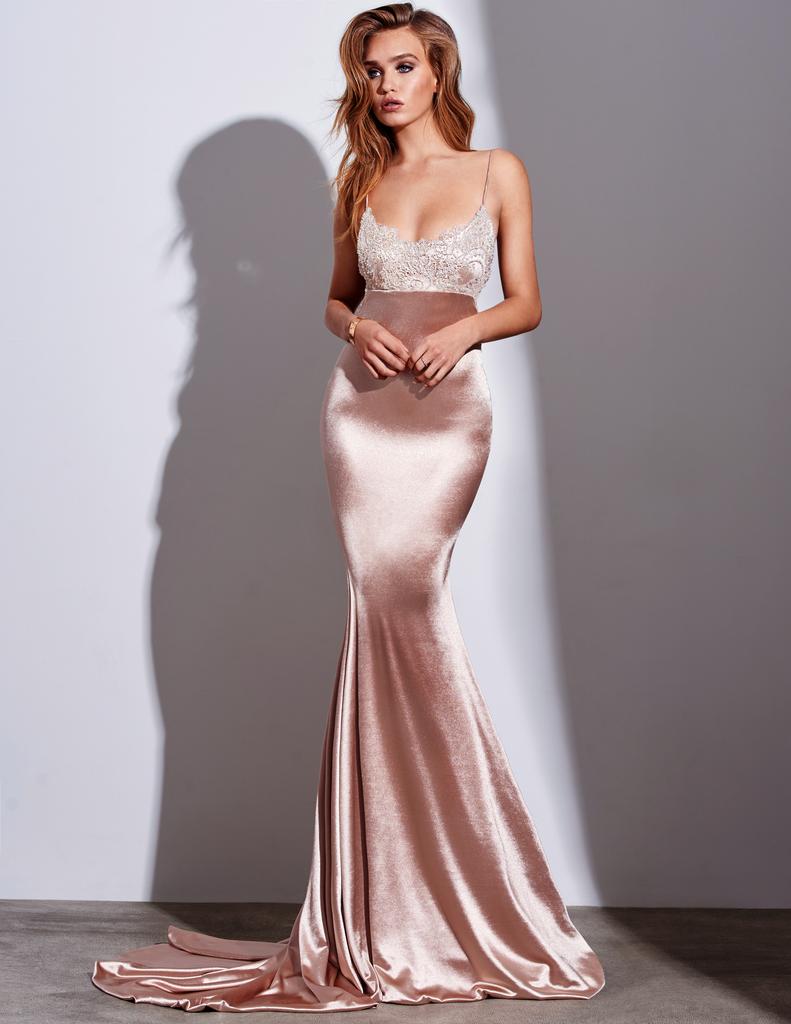 Pinterest Satin Gown