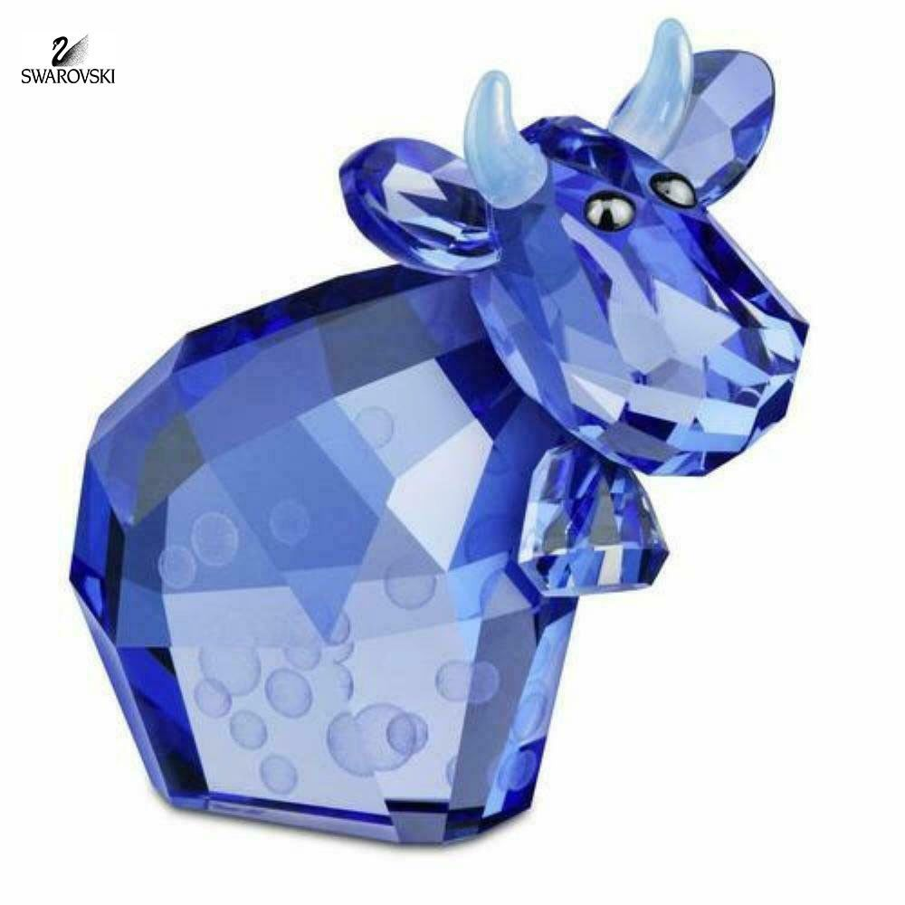 Swarovski Crystal Figurine Lovlot Cow BUBBLE MO #1121763