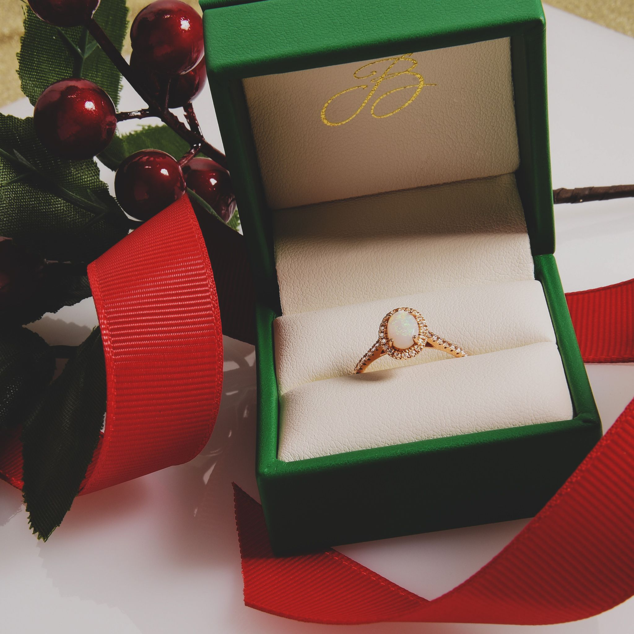 Rose Gold Oval Opal And Diamond Halo Ring Micro Pave Engagement Rings Diamonds Online Beautiful Engagement Rings