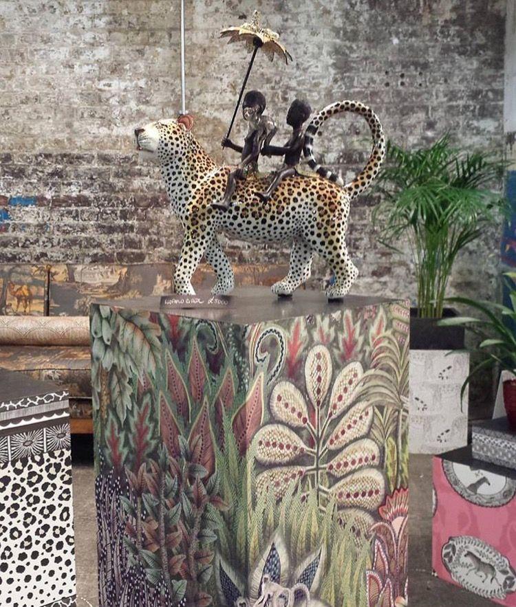 Ardmore Leopard Rider With Savuti Wallpaper Designed For