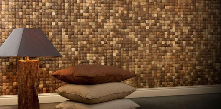 Tile Wall Decor Coconut Tiles  Coconut Mosaic  Pinterest  Coconut 3D Wall