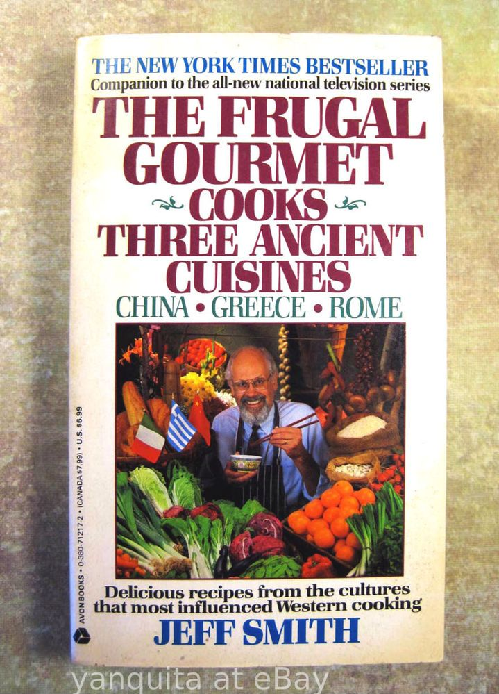 Frugal Gourmet Cooks Ancient Cuisines Jeff Smith Mediterranean - Cuisines smith