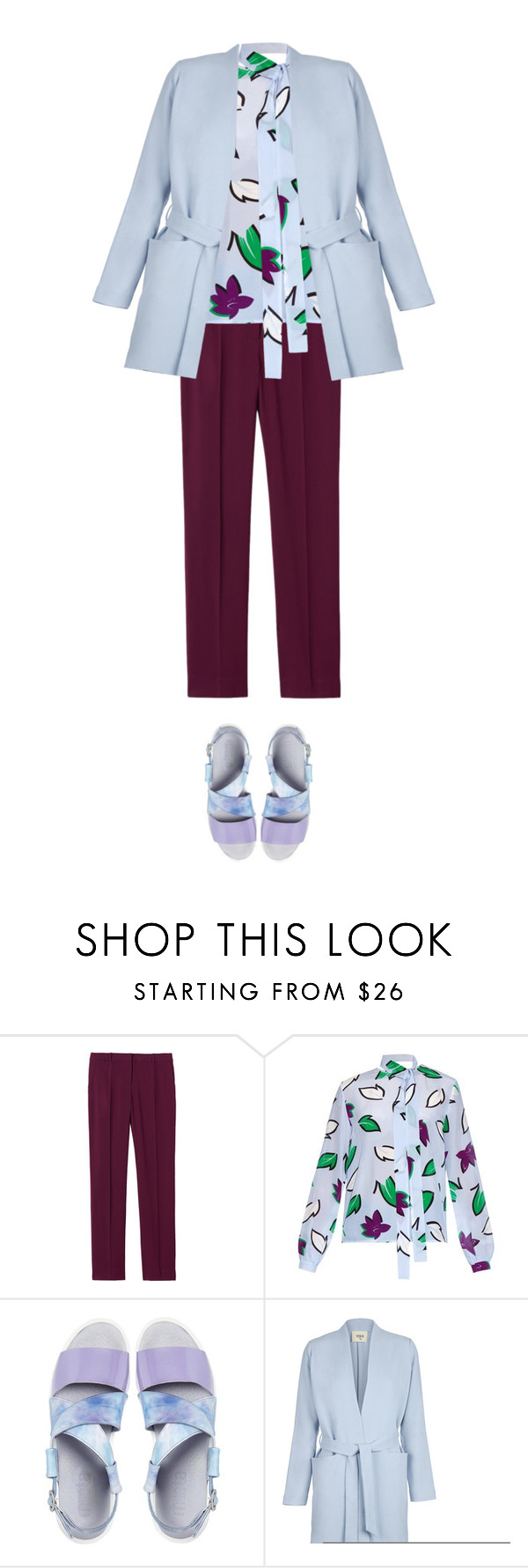 """""""Untitled #996"""" by agniecha ❤ liked on Polyvore featuring Rebecca Taylor, Sportmax and Miista"""
