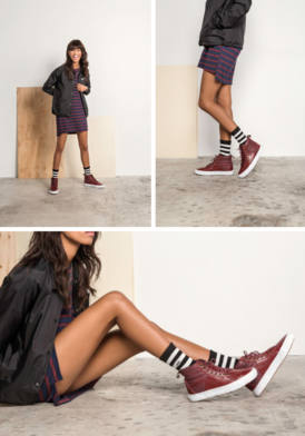 9bfd73d1b37d0 Ready for Fall in the Thanks Coach Jacket, Reek Havoc Tee Dress, Pebble  Leather Sk8-Hi 46 MTE, and Girl Gang Crew Socks.