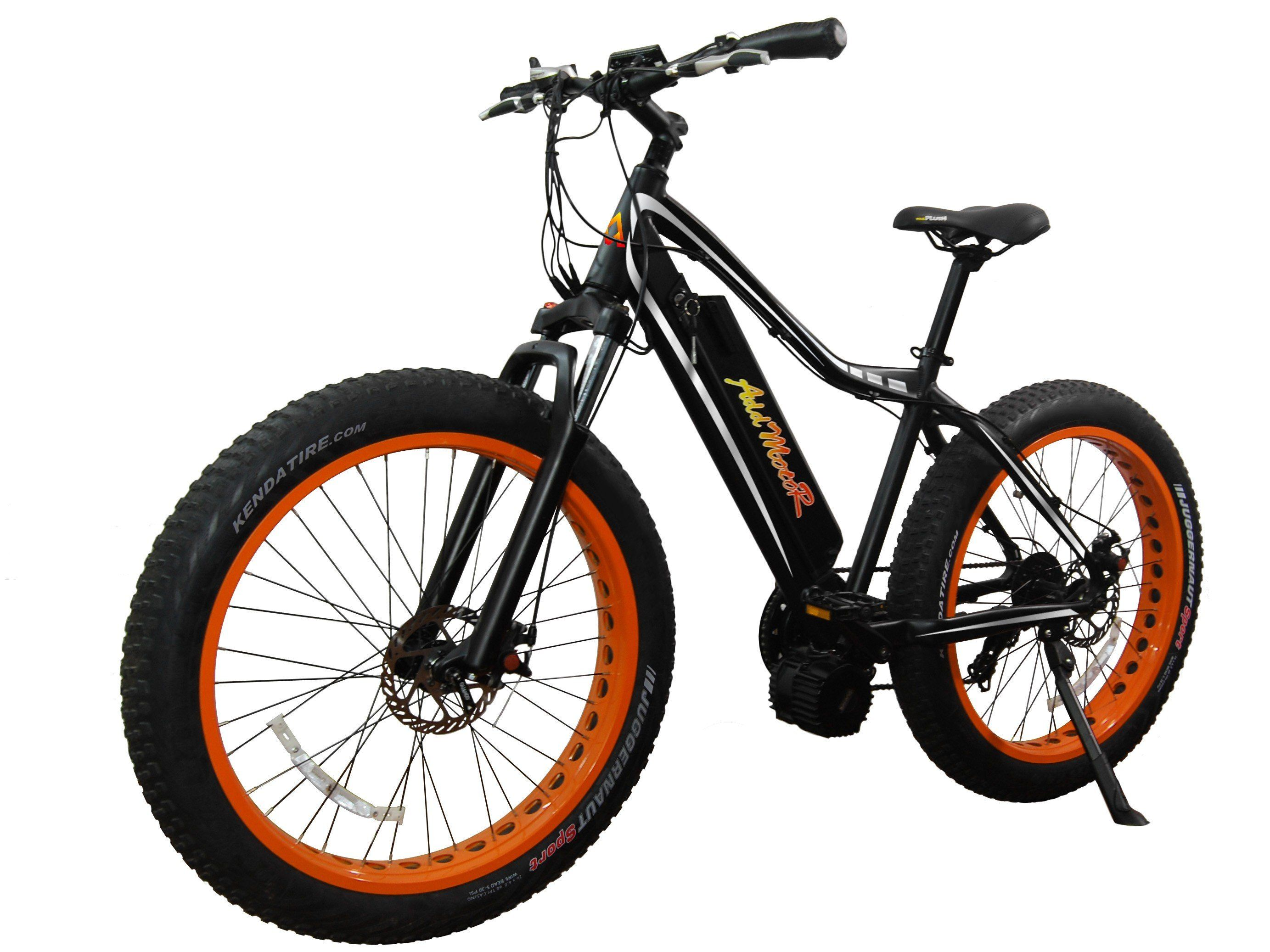AddMotor Motan M-5800 1000w 26 inch Mid Drive Fat Tire Electric Ebike