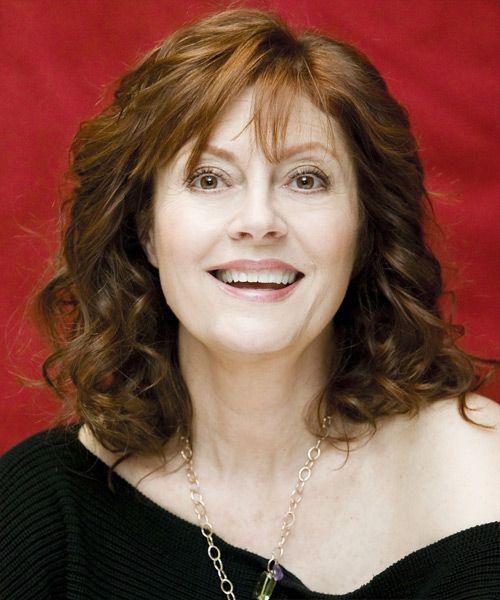 Susan Sarandon Medium Wavy Hairstyle Wavy Hairstyles Medium Hairstyle Hair Styles