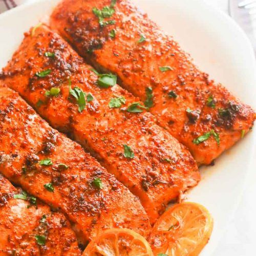 Oven Baked Salmon, Baked
