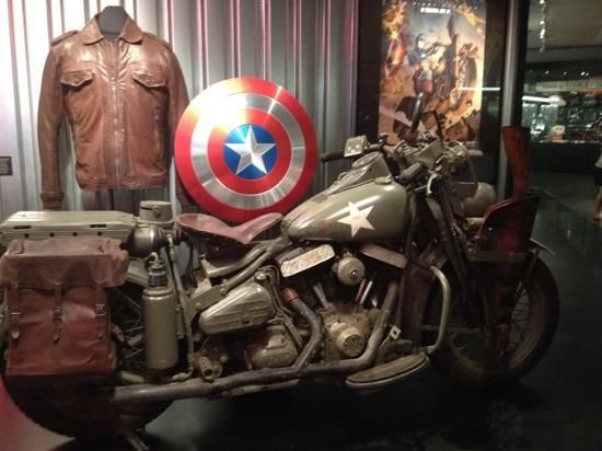 Harley-Davidson Museum: Captain America Harley