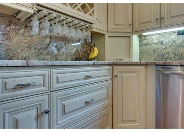 Cream Maple Glazed Cabinets J Amp K Jk3 Kitchens Glazed