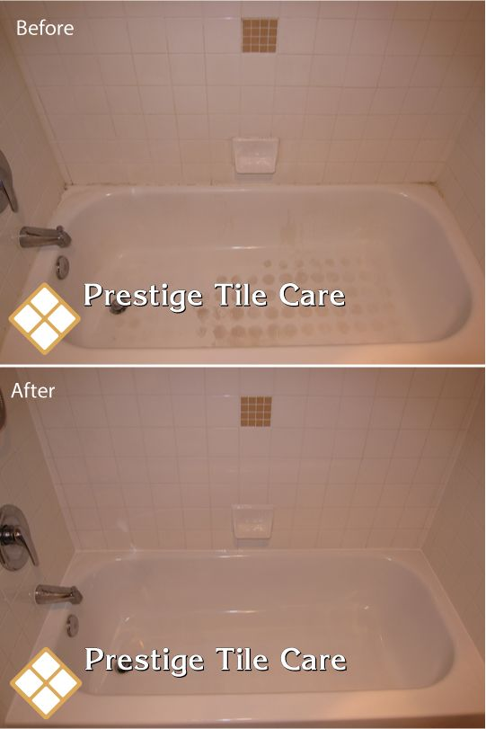 Cleaning And Recaulking Bathtub