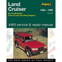 Toyota Landcruiser 60 70 80 Series Petrol Service Repair Manual Gap05524 Repair Manuals Repair Toyota