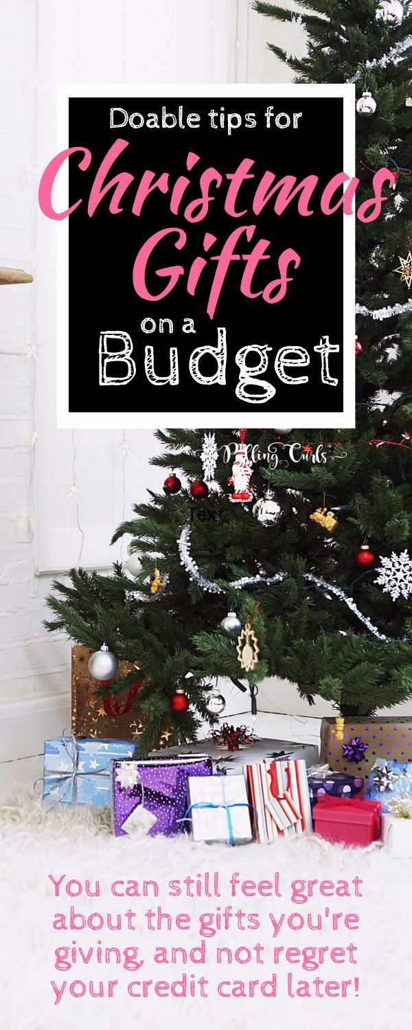 Buying Christmas Gifts On A Budget | Frugal Life @ Pulling Curls ...