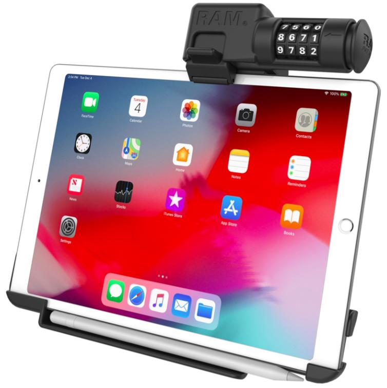 Ram Hol Ap23clu Ram Ez Roll R Combo Locking Holder For The Apple Ipad Pro 11 Synergy Mounting Systems In 2020 Apple Ipad Pro Ipad Pro Ipad
