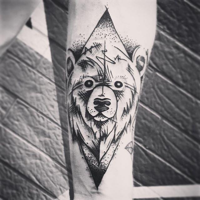 Resultado De Imagen De Tatuaje Osos Tatuajes Pinterest Tatuaje