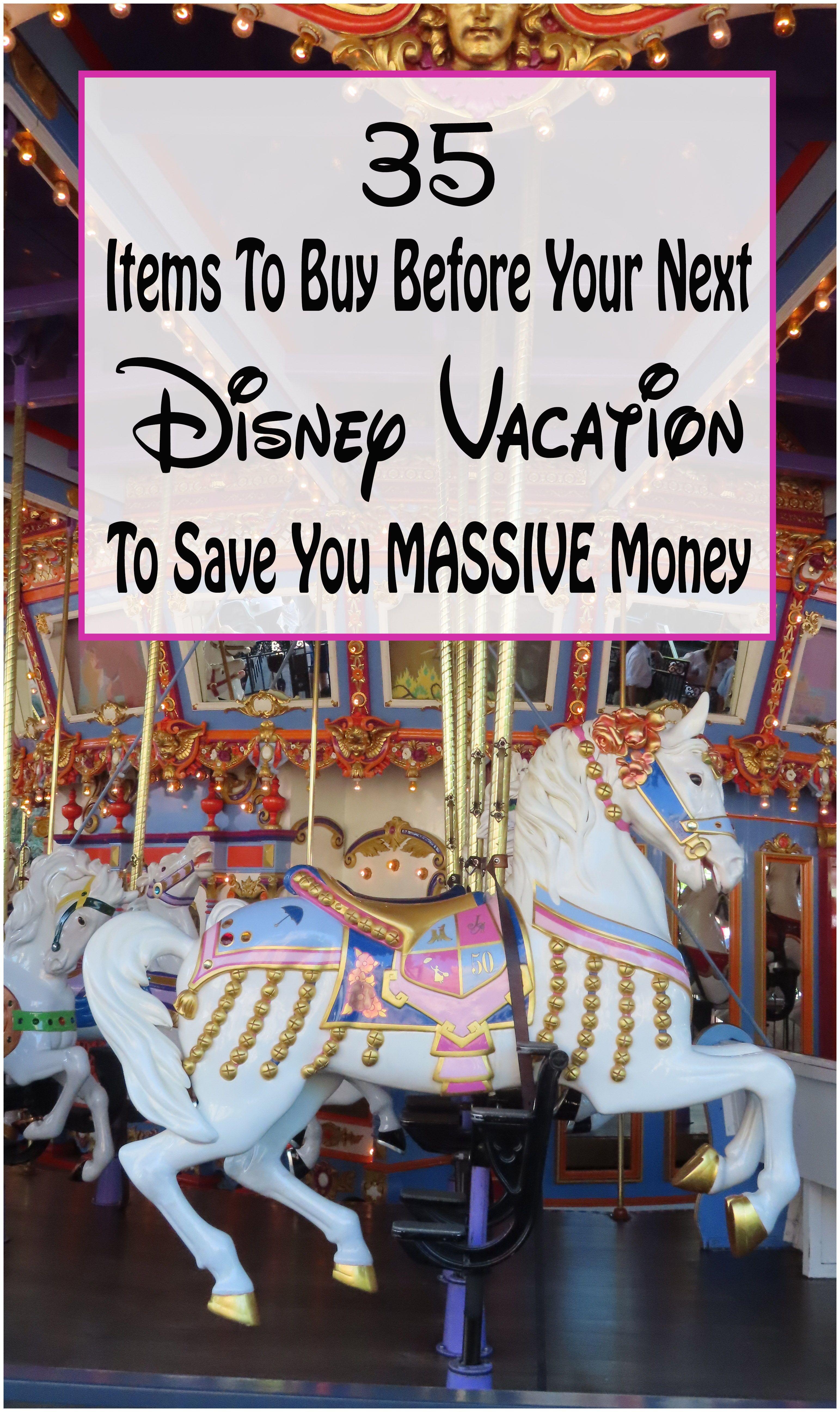 Photo of Artikel, die Sie vor Ihrem Disney-Urlaub kaufen müssen, um Geld zu sparen!