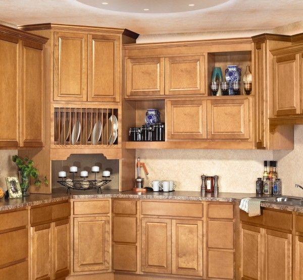 Rta Kitchen Cabinet Manufacturers: Sierra Toffee By CNC - Solid Birch Cabinet.