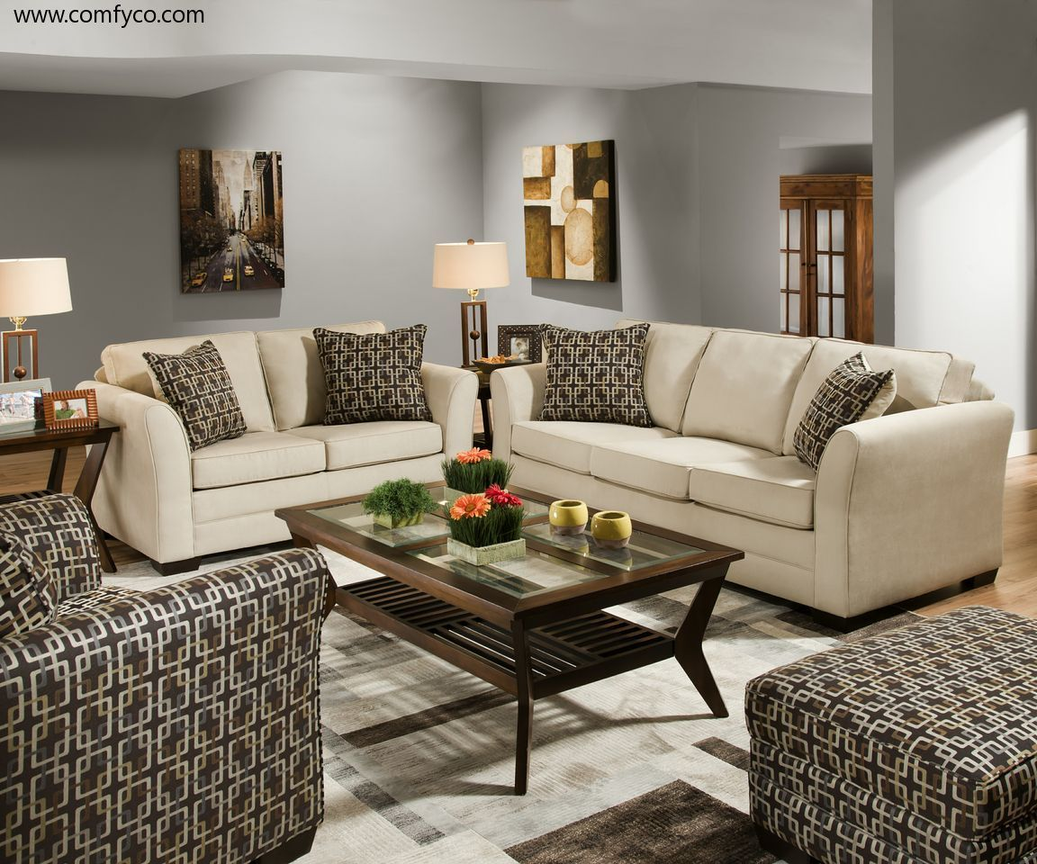 G5149 Casual Contemporary Living Room Set By Global Furniture USA : Fabric  Sofas At Comfyco.