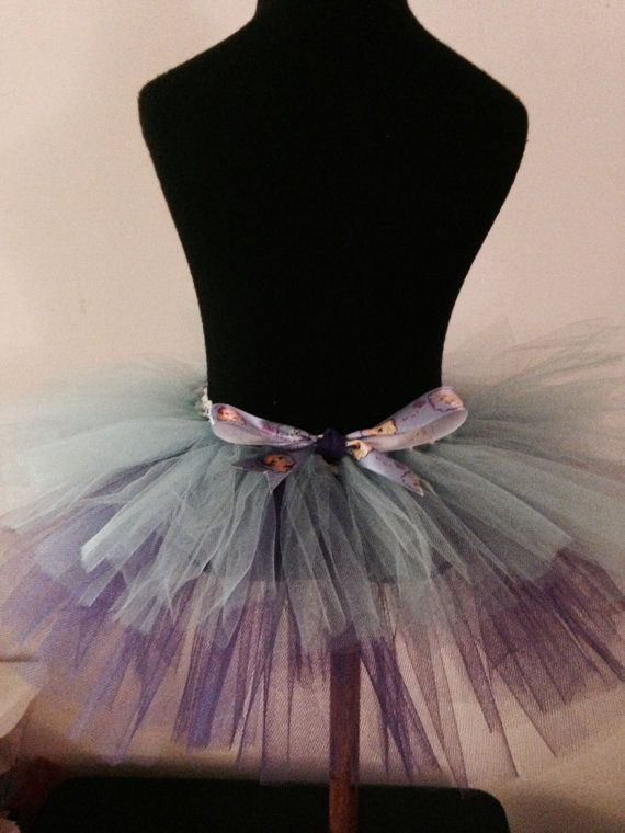 Frozen Tulle Skirt by dressupland on Etsy