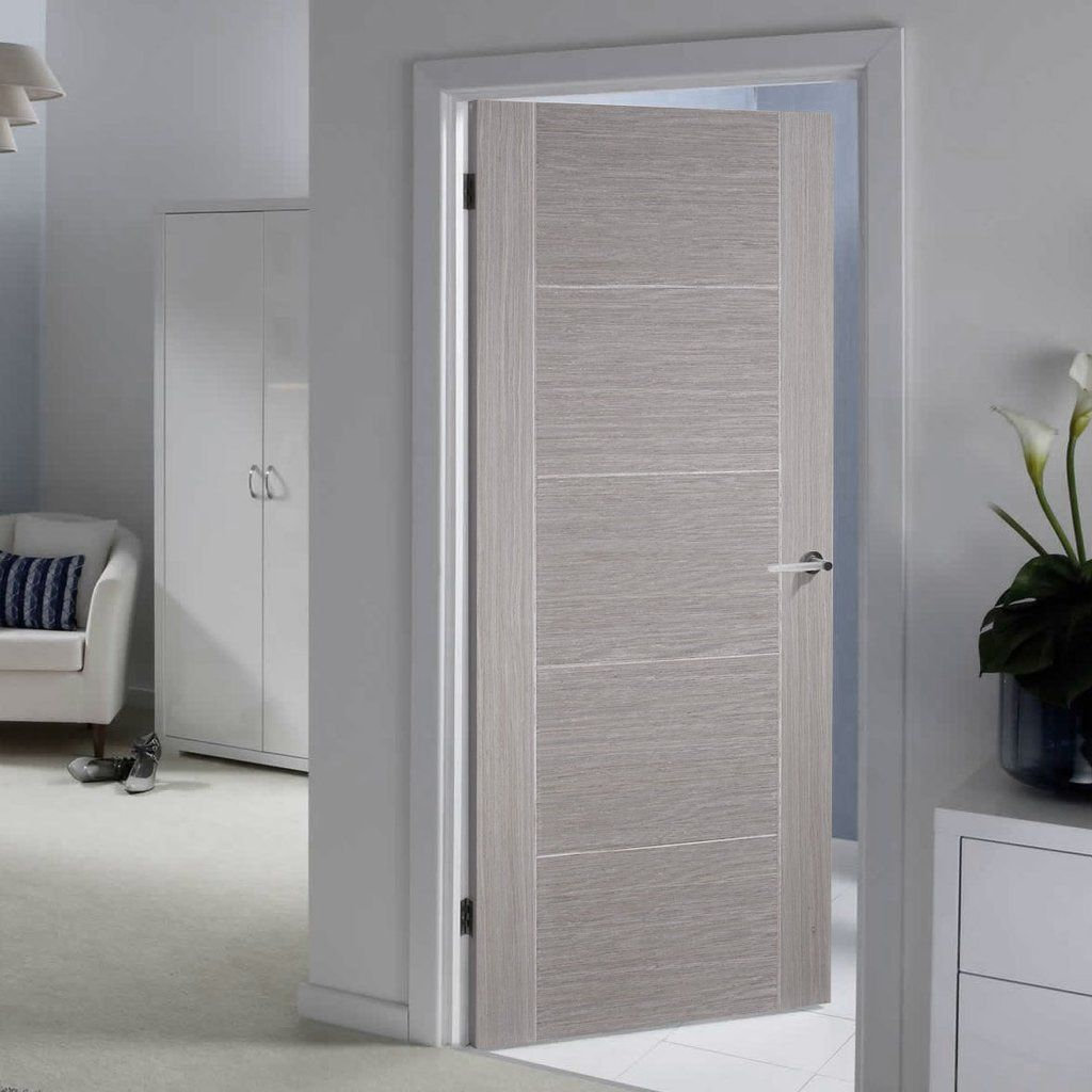 Exceptionnel Bespoke Light Grey Vancouver Door   Prefinished. #flushdoor #greydoor  #internaldoor #moderndoor