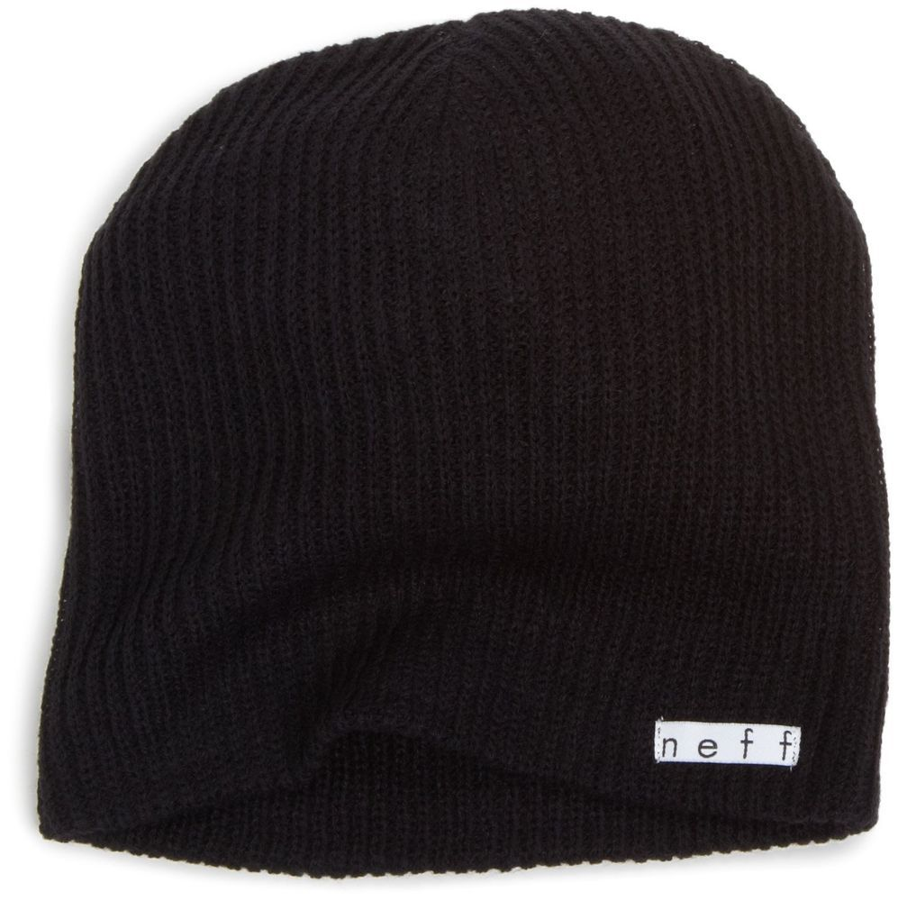 8cab364a988 Neff Hat For Men And Women Beanie Fit Winter Daily Beanie Black  NEFF