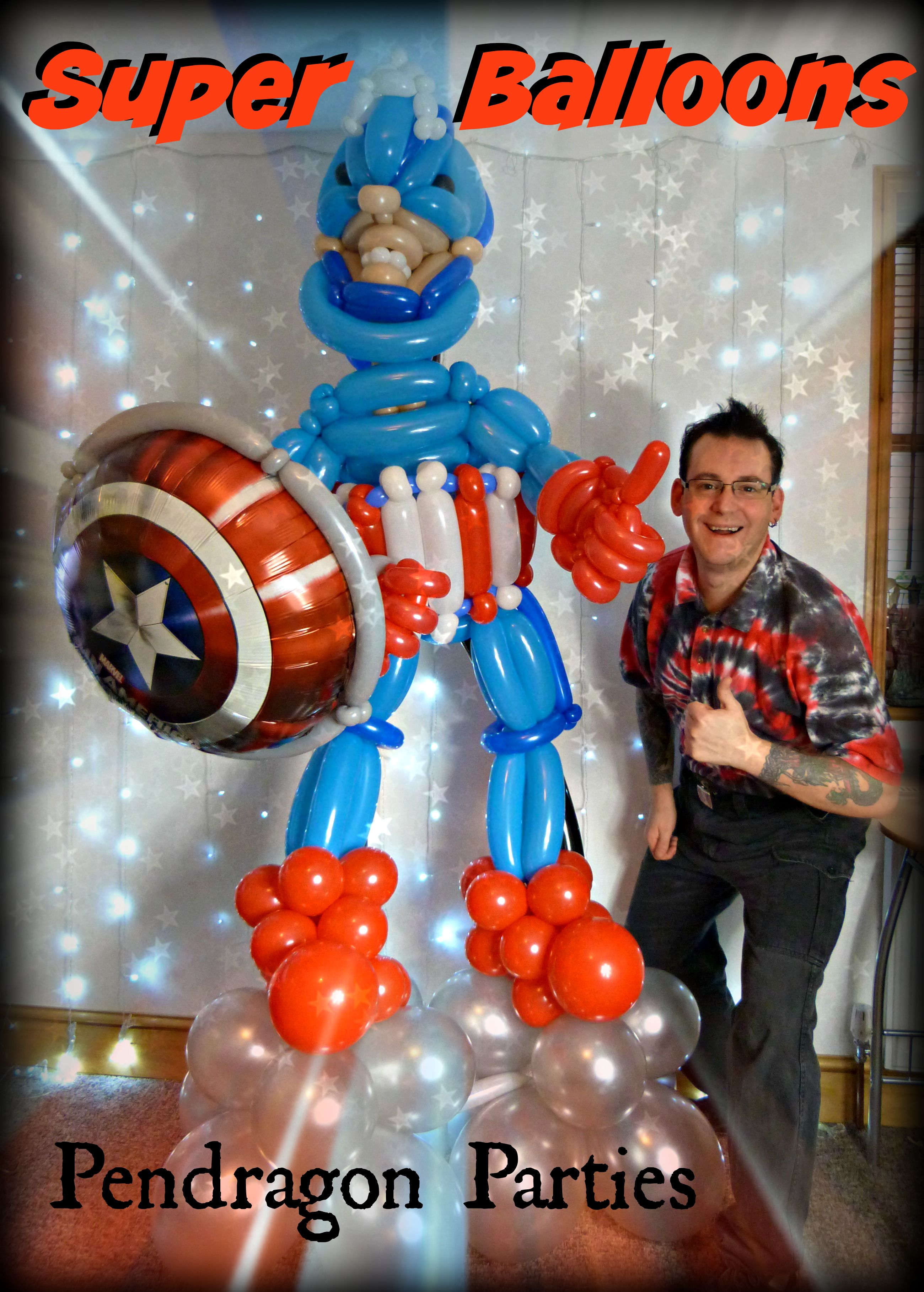 Captain America Super Hero Balloon Decorations Balloons For All