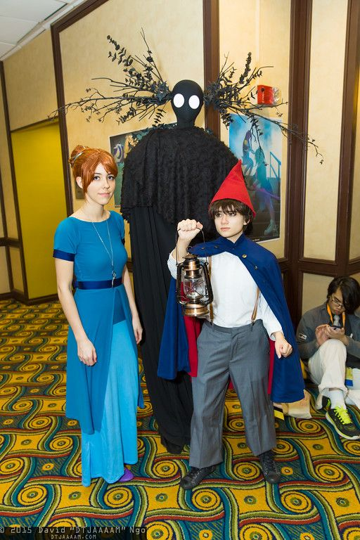 beatrice beast and wirt over the garden wall cosplay anime los angeles 2015 saturday dtjaaaam - Over The Garden Wall Cosplay