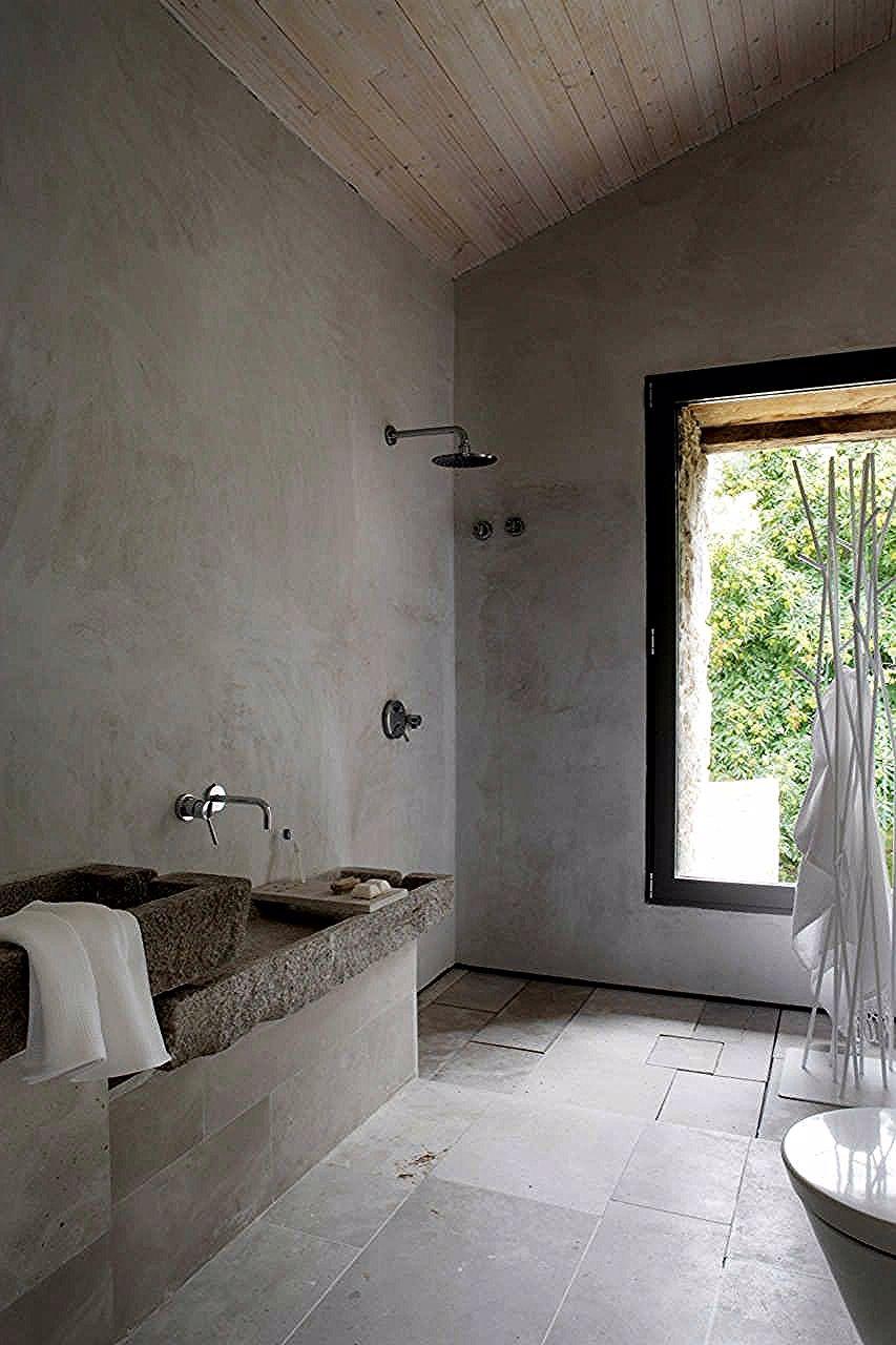 Beton Waschbecken Die Eine Starke Aussage Ohne Jeden Aufwand Machen Haus Und Deko Waschbecken Badezimmer Design Und Rustikale Badezimmer Designs