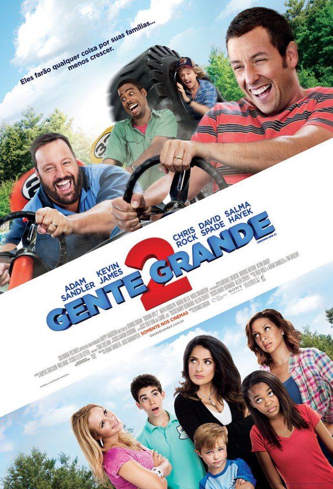 Gente Grande 2 Cinema Filmes Movies Com Imagens Gente