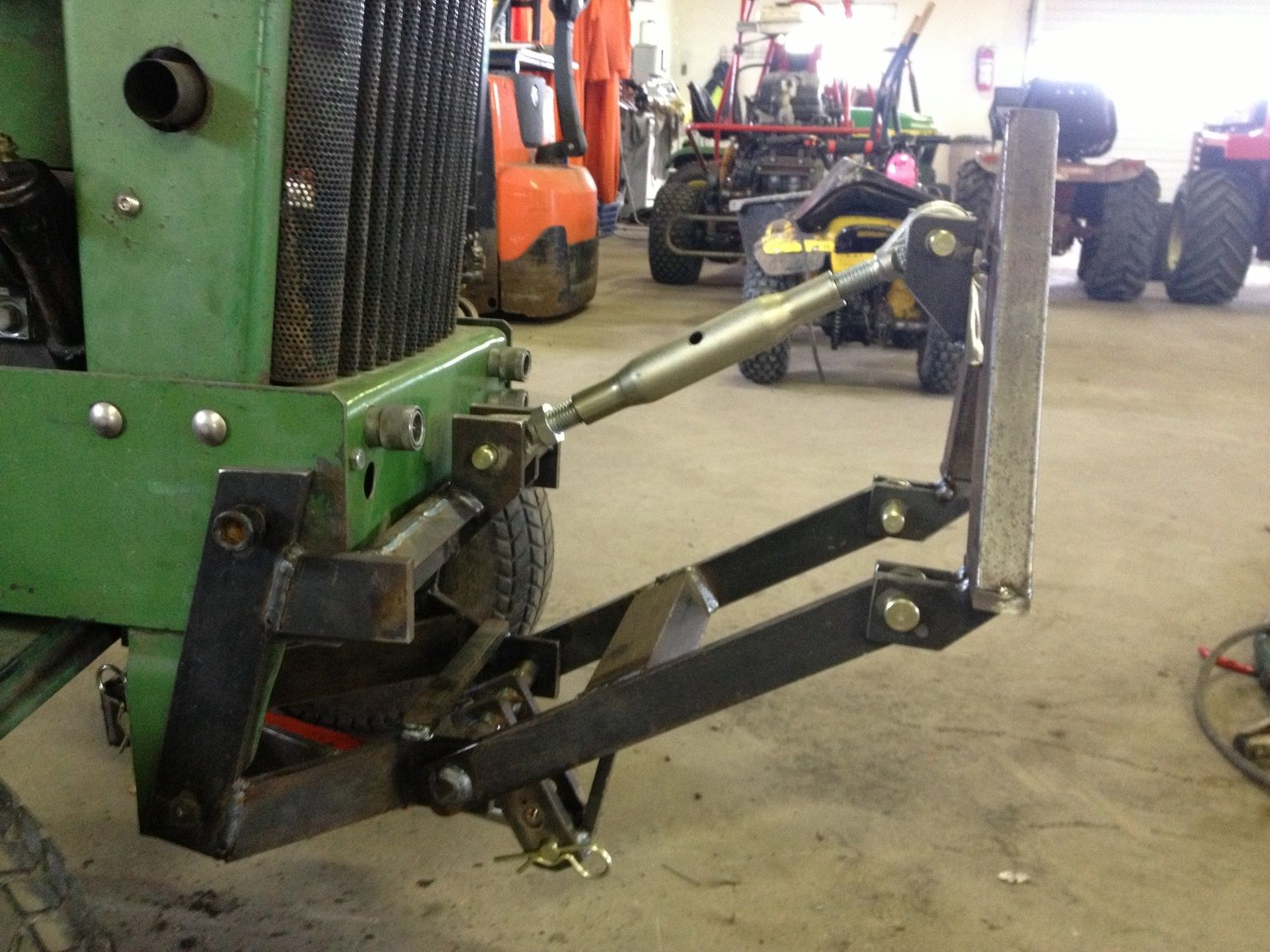 Jd 216 Front Hitch Google Search Tractor Tractor