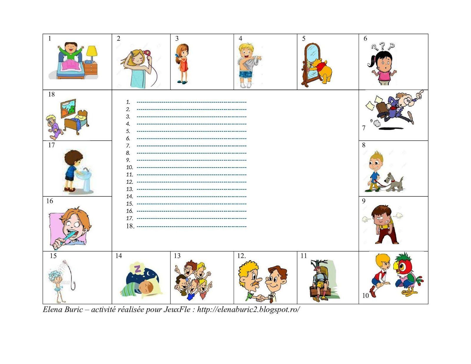 Jeuxfle Verbes Pronominaux En Er Jeu En Ligne Et Suggestions D Activites En Classe Teaching French Learn French French Classroom