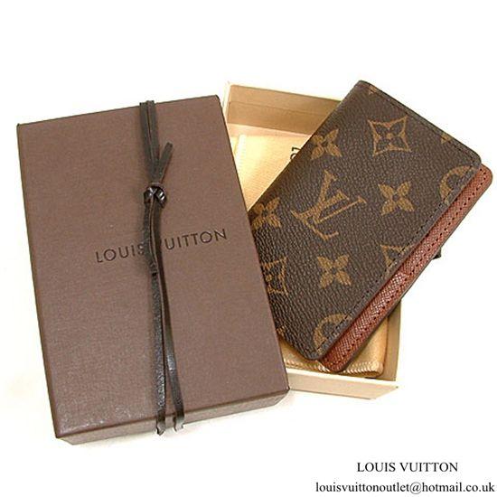 Louis Vuitton M61732 Pocket Organizer Monogram Canvas   Bags in 2019 ... e025de63af