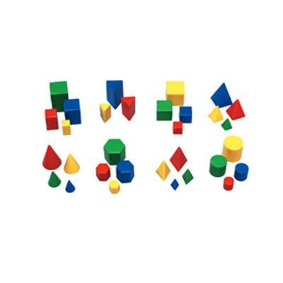 Learning Resources 32 Piece Mini Geosolids  Set