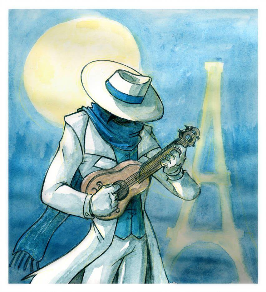 A Monster In Paris By Https Www Deviantart Com Yore Donatsu On