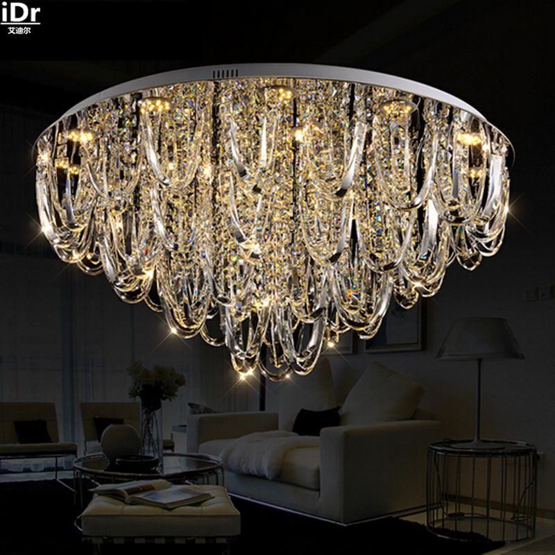 European modern minimalist living room lamp crystal lamp