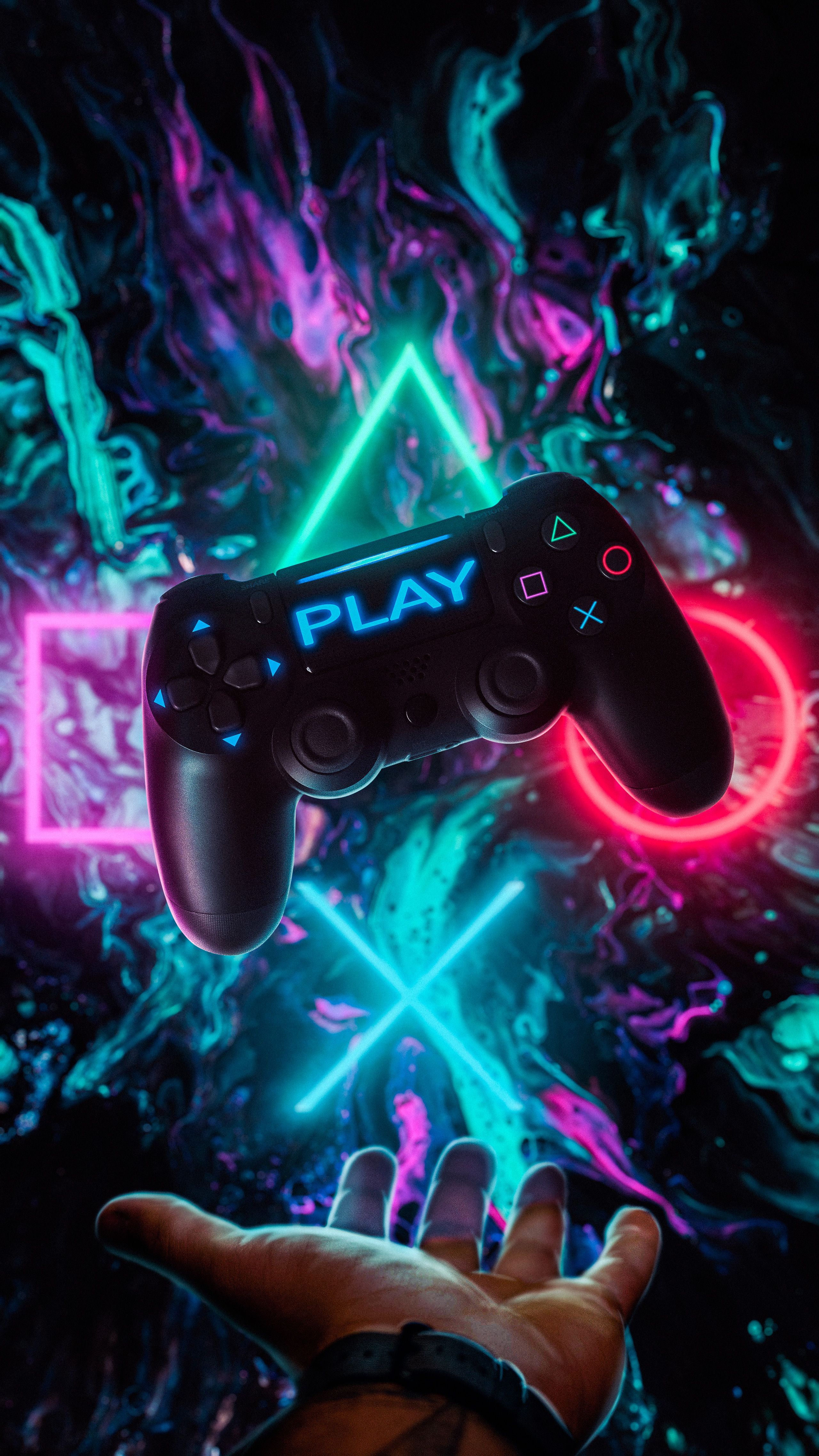 Games Controller Amoled Wallpaper Game Wallpaper Iphone 4k Gaming Wallpaper Best Gaming Wallpapers