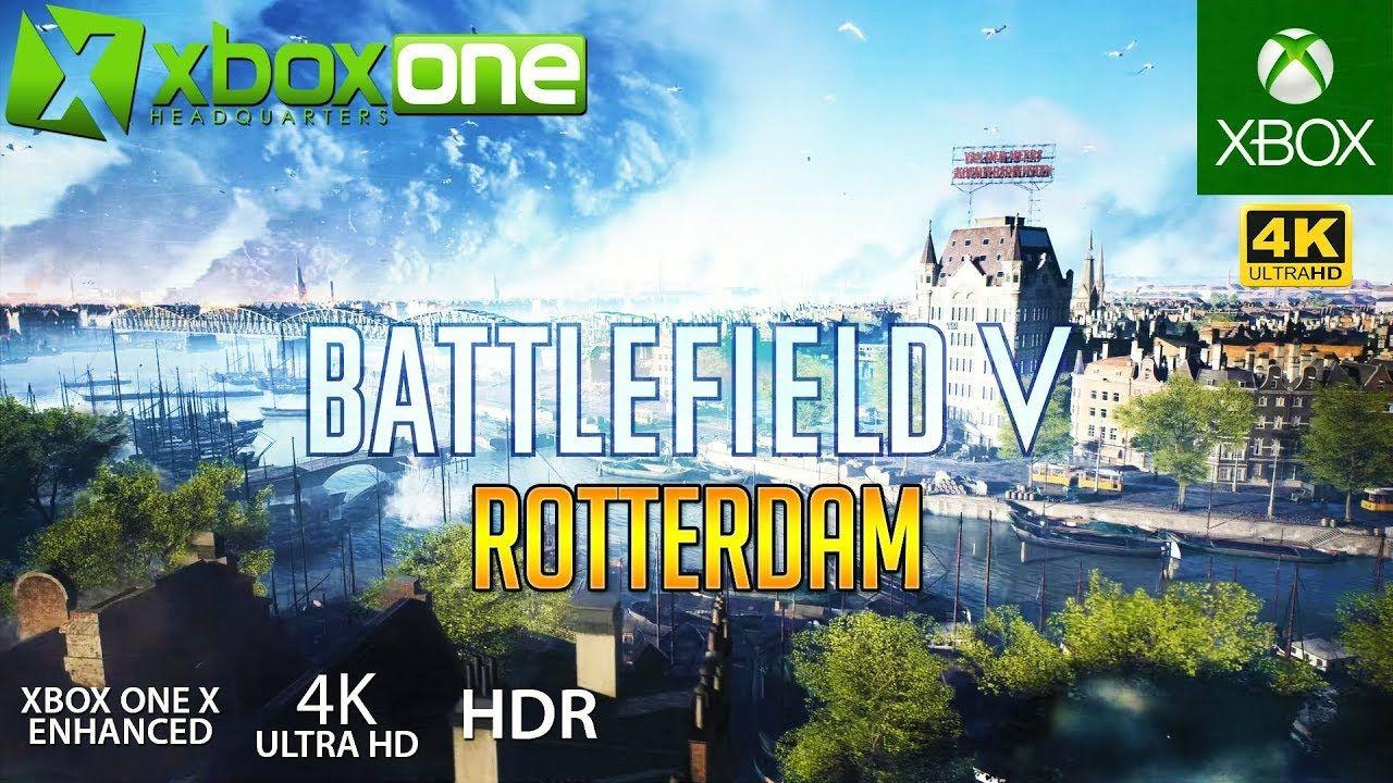 Xboxone 4k Battlefield 5 Bf5 Xbox One X Gameplay Rotterdam