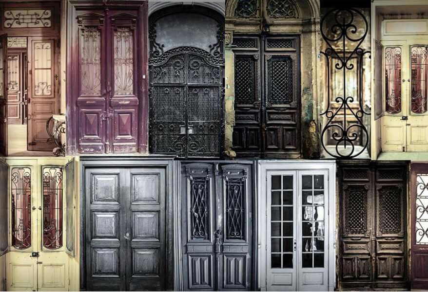 Everyone has their own door ..