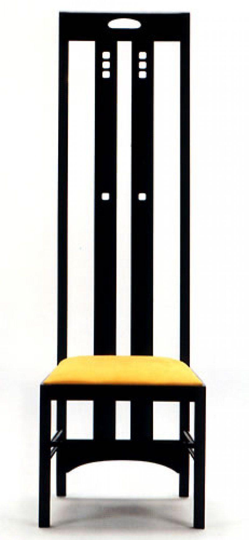 Charles Rennie Mackintosh Highback Ingram Chair | Arts and ...