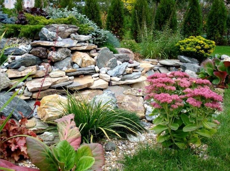 Jardin en pente moderne - idées et conseils en 25 photos ...