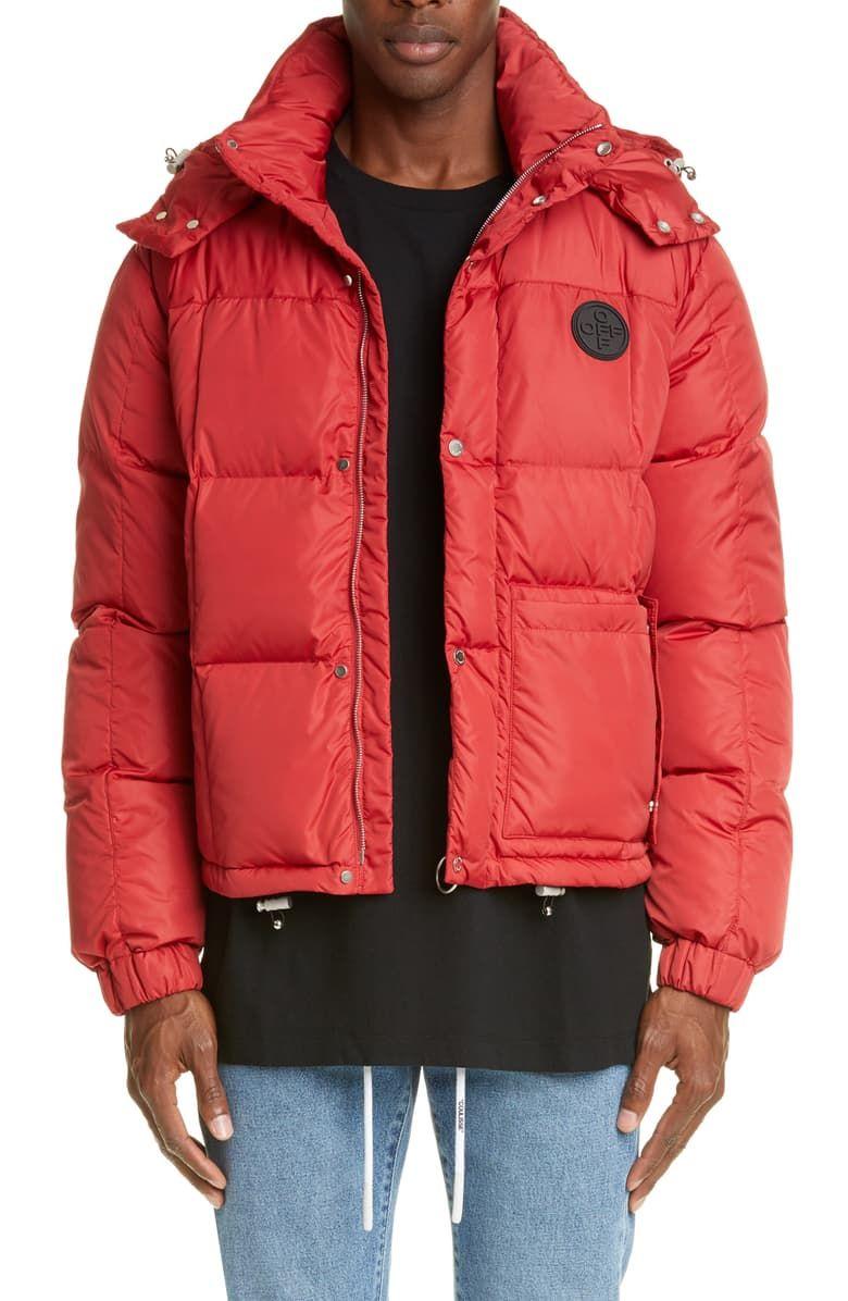 Off White Puffer Jacket Nordstrom Mens Clothing Styles White Puffer Jacket Red Puffer Jacket [ 1196 x 780 Pixel ]